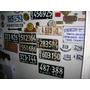 Antiguas Patentes De Automoviles Las De Color Negras