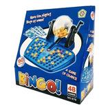 Bingo Juego De Mesa Familiar 48 Cartones Bolillero Lelab