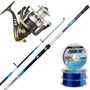 Kit Pesca Rio Waterdog Caña Patriot 2.70m + Reel Century 602