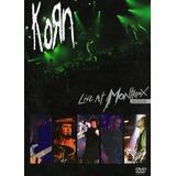 Korn Live At Montreux 2004 Dvd Nuevo Sellado