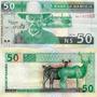 Namibia Billete De 50 Dólares Año 1999 Sin Circular
