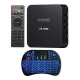 Android Tv Box Pc Smart 4k Kit Teclado Hdmi Quadcore 8gb