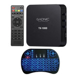 Convertidor Smart Android Tv Box Netflix Youtube Air Mouse