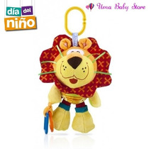 Oferta Dia Del Niño! Sonajero Mordillo Bebe Nuby Leon +0m