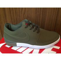 Zapatillas Nike Sb Dandy Verde Militar En Caja Envio Al Pais