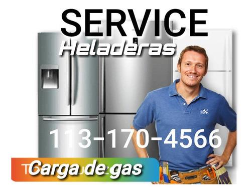 Service Heladera Carga Gas Reparacion A Domicilio Fuga