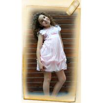 Camison Para Nenas Con Luz Led Princesa