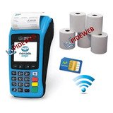 Mercado Pago Point Plus C/chip Celular + Impresora Posnet