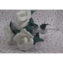 Flores De Goma Eva Para Tu Souvenirs Y Centros De Mesa