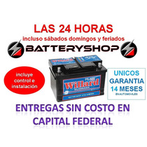 Bateria Willard Ub 730 12 X 75 Peugeot 307 Nafta O Diesel
