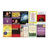 10 Libros Robert Kiyosaky, Go Pro,secreto De Mente Millo,etc