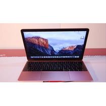 Macbook 12 2017 Rose 8 Gb 256 Gb Ssd Impecable Con Estuche