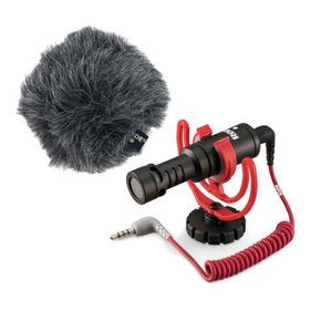 Micrófono Con Accesorios Rode Videomicro Condensador Cardioide Black