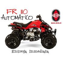 Cuatriciclo Gilera Fr 110 Automatico 0km 2016