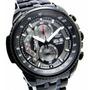 Reloj Casio Edifice Ef-558bk Cronometro 5hs C/ Sin Interes