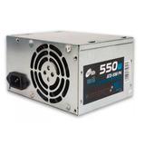 Fuente Noganet 550 W Pc Atx Ide Sata Cooler