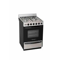 Cocina A Gas Columbia Acero Inox Encen Electronico Cc 5604x