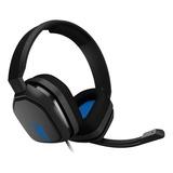 Auriculares Gamer Astro A10 Grey Y Blue