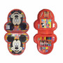 Set De Arte 32 Pcs Mickey Acuarelas Marcadores Crayones