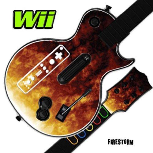 Mightyskins Skin Decal Cover Para Guitar Hero 3 Iii Nintend