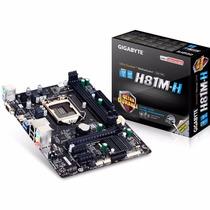 Motherboard Gigabyte Ga-h81m-h Lga 1150 Tienda Oficial