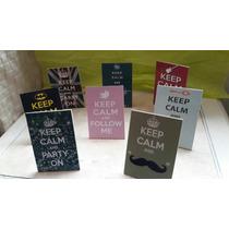 Souvenir Cuadritos Keep Calm 15 Años
