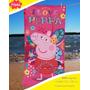 Toallon Peppa Pig La Cerdita Licencia Oficial Orig Piñata