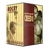 Rocky Colección Completa En Dvd Collection Boxeo Creed 2