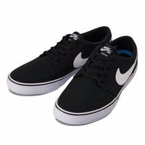 Zapatilla Nike Sb Portmore 2 Negra Envío Gratis/senise Surf