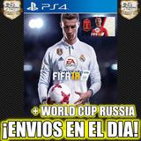 Fifa 18 Ea Sports Fifa + Mundial Rusia 2018 Ps4 Stock 1°