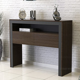 Mueble Mesa Recibidor Con Dos Puertas Diseño Moderno
