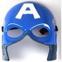 Máscara Careta Capitan América Luz Y Sonido Avengers Moron