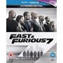 Rapido Y Furioso 7 Incluye Version Extendida En Blu Ray