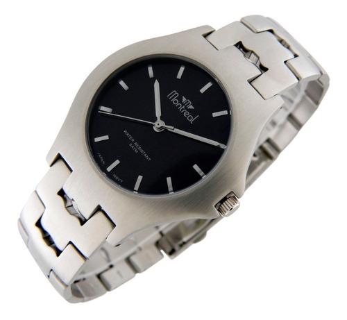 Reloj Montreal Hombre 100% Acero Ml192 Tienda Oficial
