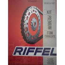 Kit De Transmision Riffel Yamaha Fz-16! En Wagner Hermanos