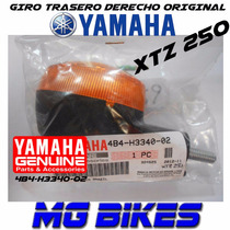 Farol Giro Trasero Derecho Yamaha Xtz 250 Original Mg Bikes