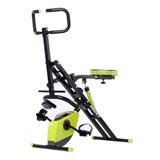 Ejercitador Crunch + Bicicleta Magnetica 2 En 1 Full Body