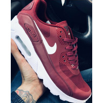 Nike Air Max 90 Team Red Premium  - Exclusivas!