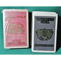 Barajas Naipes Cartas Antiguo Publicidad 2 Mazos