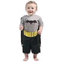 Disfraz Para Bebe Batman Liga De La Justicia Original