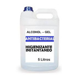 Alcohol En Gel Desinfectante Antibacterial 5 Litros