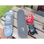 Patineta Skate Para Niño Adolescente Con Casco Y Proteccion