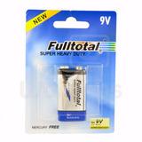 Bateria 9v Super Heavy Duty Fulltotal P/controles, Radios +