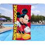 Toallon Playero Mickey Mouse Disney Piñata Algodón