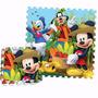 Piso De Goma Eva Encastrable Mickey Disney Original