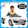 Auto-coche A Bateria Para Niños Audi R8 Kiddy. Radio Fm, Mp3