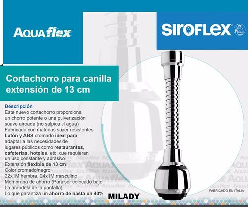 Cortachorro Canilla Aereador Extension 13cm 2510/s Siroflex