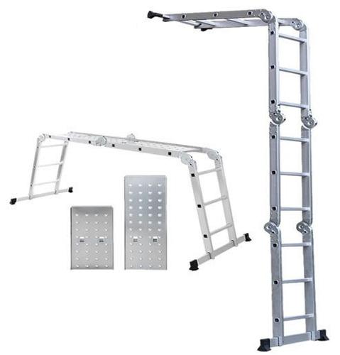 Escalera de aluminio articulada plegable c for Cotizacion aluminio argentina