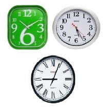 Reloj De Pared Varios Modelos, Varios Colores Reloj Colgar
