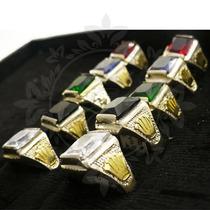 acb5595bcbba Combo 10 Anillos Plata Y Oro Por Mayor Revendedores Hombre en venta ...